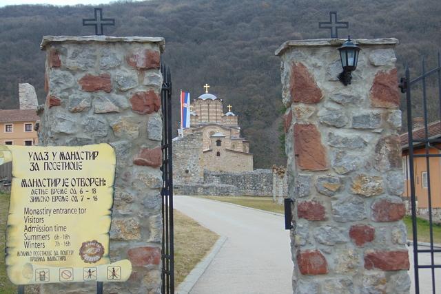 One Sunday in Ravanica Monastery